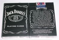 Paper Invisible Jack Daniel's Marked Barcode Playing Cards For Poker Reader and Scanners