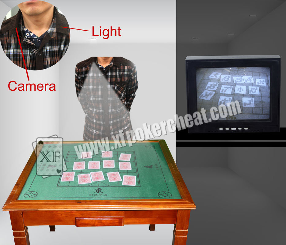 Playing Card Scanner Collar Camera To See The Backside Marking Playing Cards