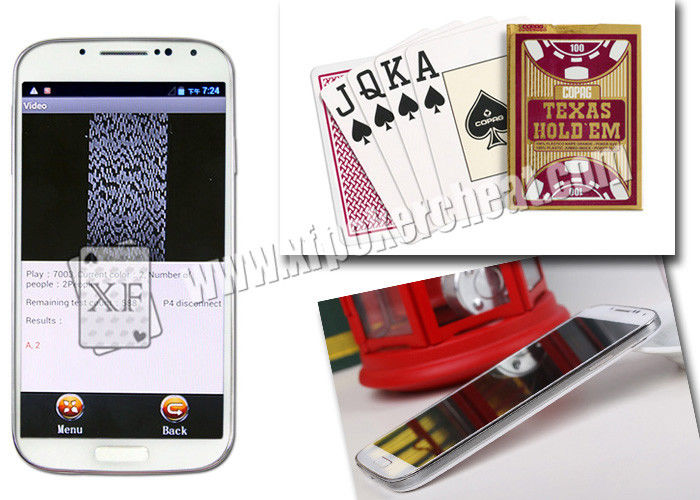 Powerful K4 Poker Scanner Used To Play Omaha 5 Cards Poker Game