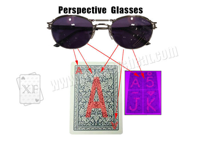 Fashionable Perspective Glasses For Backside Marked Playing Cards