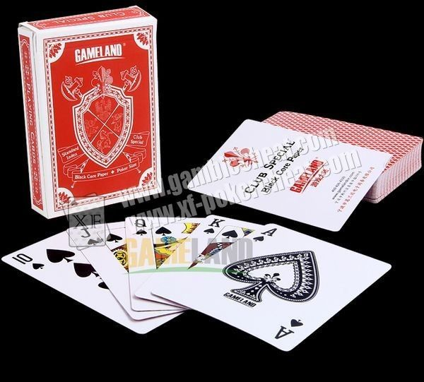 GAMELAND Paper Invisible Ink Marked Playing Cards For Precision Lenses And Poker Reader