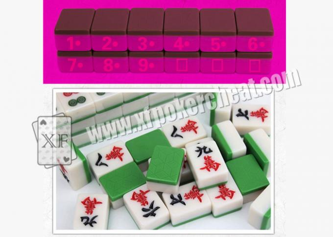 Automatic Mahjong Machine Casino Cheating Devices With Special Guidance Program Phone