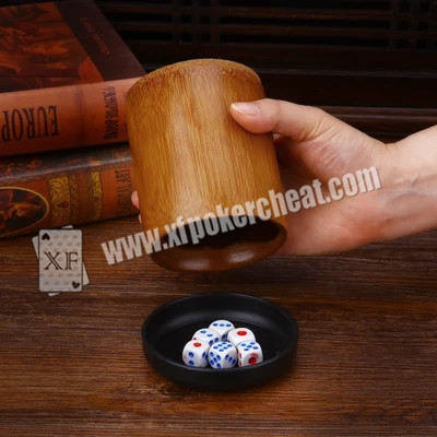 Colorful Gamble Dice / Trick Magic Dice With Radio Wave and