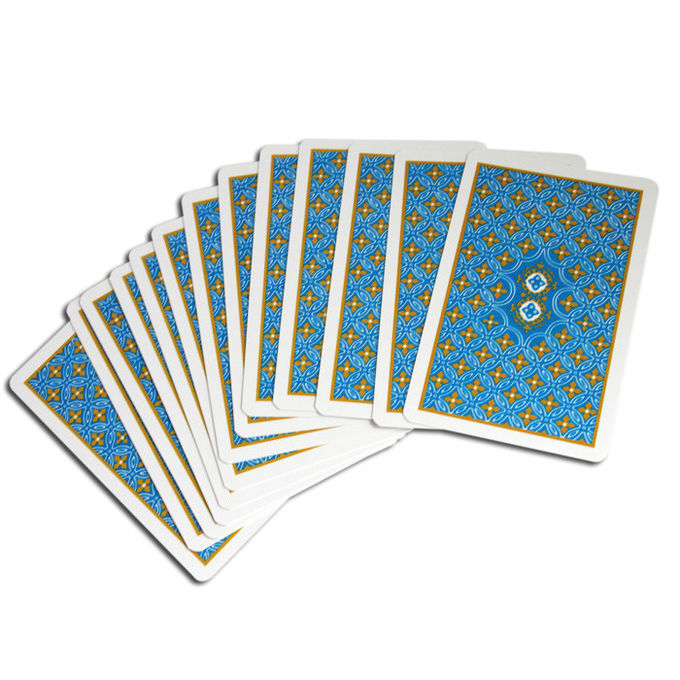 Custom Plastic Poker Marked Cards / Marking Cards In Poker Professional Playing Cards